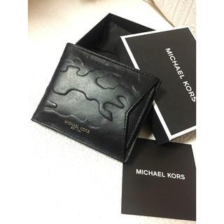 マイケルコース(Michael Kors)の❤️送料込み☆新品正規品箱付定期入付本革マイケルコース折財布(折り財布)