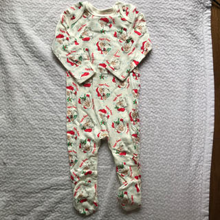 Cath Kidston - 【新品未使用】限定品 キャスキッドソン クリスマスロンパース&帽子セット 85㎝