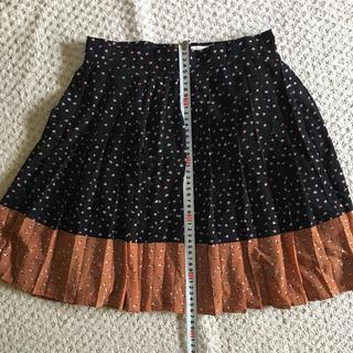 アーモワールカプリス(armoire caprice)のLouche プリーツスカート(ひざ丈スカート)