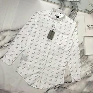 バレンシアガ(Balenciaga)の人気新品BALENCIAGA ワイシャツ シャツ 長袖M ファション(シャツ)