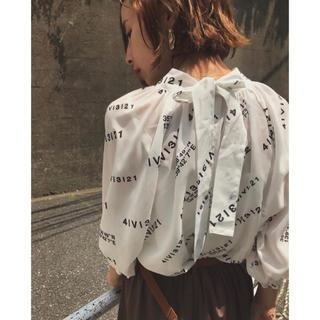 Ameri VINTAGE - Ameri VINTAGE☆ PASSCODE GATHER BLOUSE