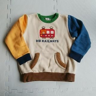 ミキハウス(mikihouse)のホットビ 裏起毛マルチ120(Tシャツ/カットソー)