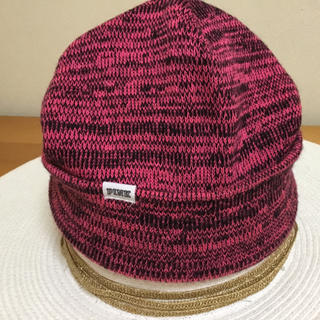 ヴィクトリアズシークレット(Victoria's Secret)のヴィクトリアシークレット ニット帽子(キャップ)