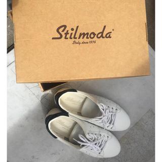 アディダス(adidas)のSTILMODA スティルモーダ レザースニーカー(スニーカー)