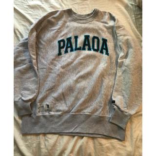 W)taps - descendant 19SS palaoa sweat shirt