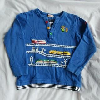 ミキハウス(mikihouse)のミキハウス 新幹線トレーナー120(Tシャツ/カットソー)