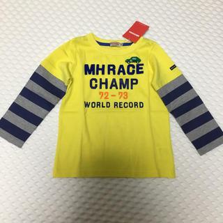ミキハウス(mikihouse)の新品未使用 タグ付き ミキハウス 100 長袖シャツ(Tシャツ/カットソー)