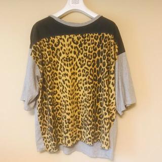 サンローラン(Saint Laurent)のSaint Laurent レオパードTシャツ(Tシャツ(半袖/袖なし))