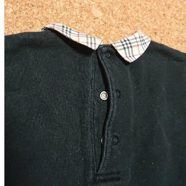 BURBERRY(バーバリー)のバーバリー襟つきロンT キッズ/ベビー/マタニティのキッズ服 女の子用(90cm~)(Tシャツ/カットソー)の商品写真
