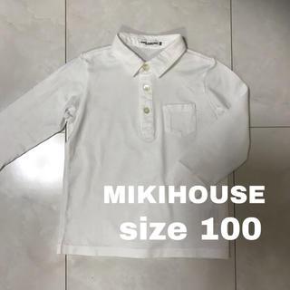 ミキハウス(mikihouse)のMIKIHOUSE 長袖シャツ 100(Tシャツ/カットソー)
