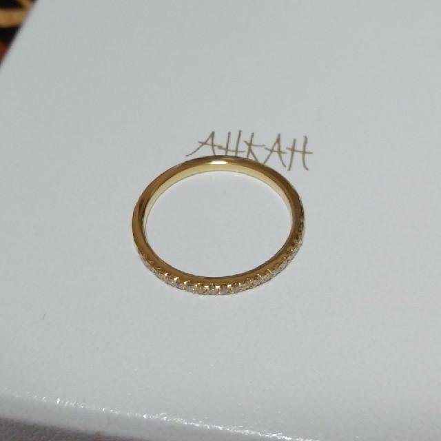 AHKAH(アーカー)のリンさま専用 AHKAH アーカー ティナリング 10号 イエローゴールド レディースのアクセサリー(リング(指輪))の商品写真