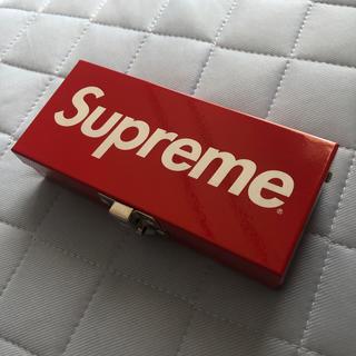 シュプリーム(Supreme)のsupreme スモールメタルボックス 小物入れ(ケース/ボックス)