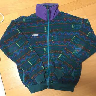コロンビア(Columbia)のコロンビア フリースジャケット  古着  Mサイズ ノースフェイス パタゴニア(ブルゾン)