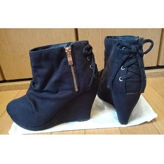 アベイル(Avail)のブーツ 黒(ブーツ)