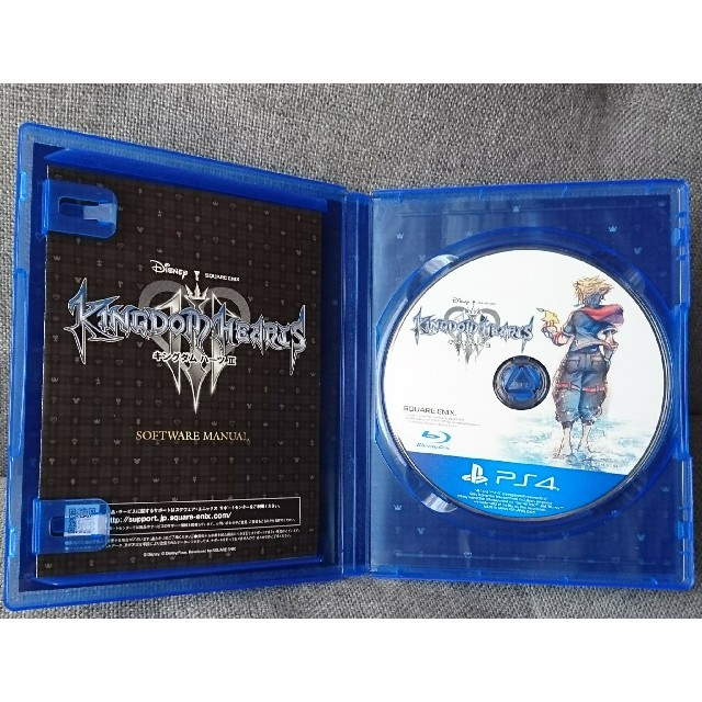 PlayStation4(プレイステーション4)のキングダムハーツ3 エンタメ/ホビーのゲームソフト/ゲーム機本体(家庭用ゲームソフト)の商品写真