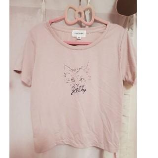 JILL by JILLSTUART - ジルバイジルスチュアート⑅猫ピンクトップスカットソー