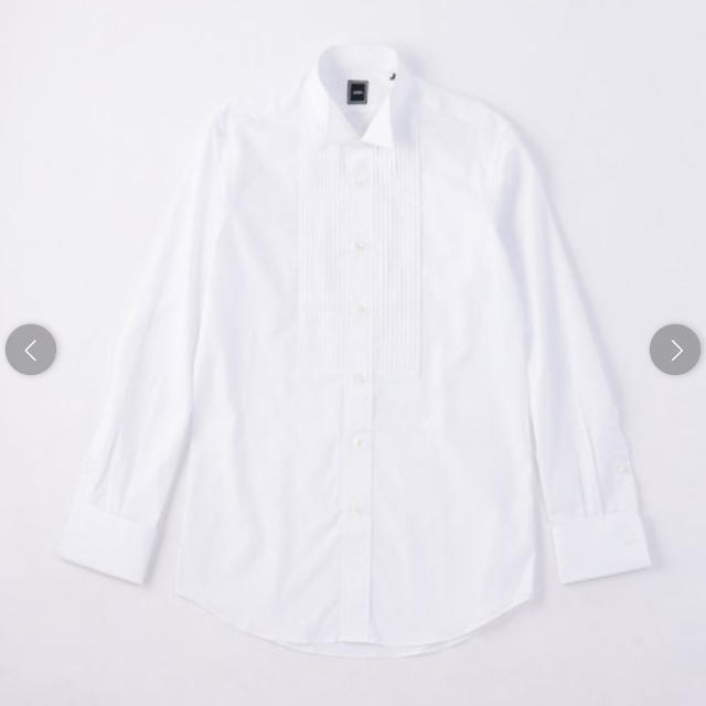 SHIPS(シップス)のシップス シャツ ドレスシャツ 新郎 結婚式 メンズのトップス(シャツ)の商品写真