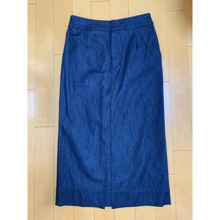 ルシェルブルー(LE CIEL BLEU)のLE CIEL BLUE デニムスカート(ひざ丈スカート)