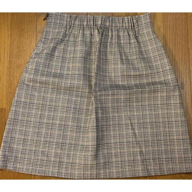 one after another NICE CLAUP(ワンアフターアナザーナイスクラップ)のアソート柄ベルト付きスカート レディースのスカート(ミニスカート)の商品写真