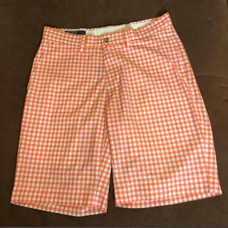 ラルフローレン(Ralph Lauren)の美品 ラルフローレン ハーフパンツ オレンジ サイズ S(ショートパンツ)