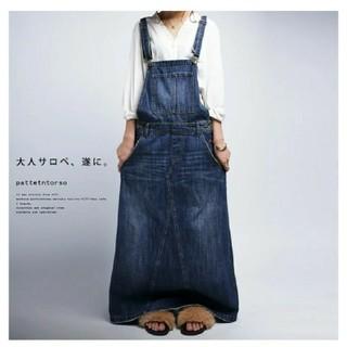 antiqua - 🌸新品🌸 デニムサロペットスカート