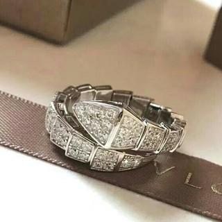 BVLGARI - Bvlgari SERPENTI レディース 指輪 リング ダイヤモンド 美品