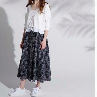 Drawer - chono デニム 刺繍 スカート she tokyo デザイナー yori
