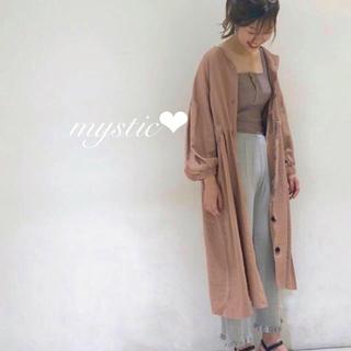 mystic - リブケーブルニットパンツ❤︎