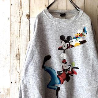 Disney - 激レア 90s アメリカ製 ディズニー スウェット トレーナー ミッキー
