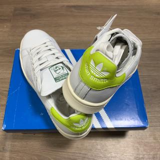 アディダス(adidas)の新品!希少カラーadidas アディダス スタンスミス白×黄緑 23.5センチ(スニーカー)