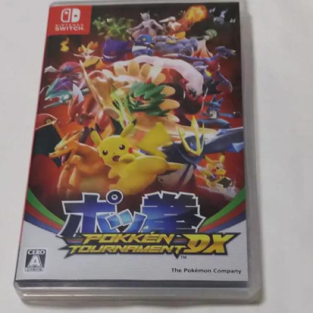 Nintendo Switch(ニンテンドースイッチ)のポッ拳 POKKÉN TOURNAMENT DX エンタメ/ホビーのゲームソフト/ゲーム機本体(家庭用ゲームソフト)の商品写真