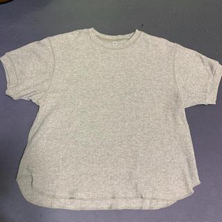 ユニクロ(UNIQLO)のUNIQLO ワッフルT XL(Tシャツ(半袖/袖なし))