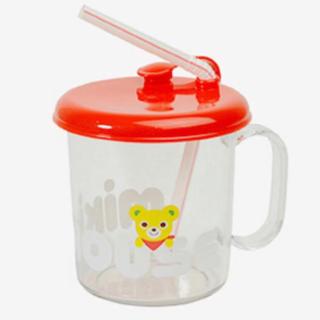 ミキハウス(mikihouse)の★ミキハウス★ 新品 非売品 ストローマグ(マグカップ)