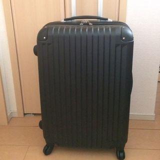 ☆新品☆ 軽量スーツケースLサイズ 伸縮ハンドル2段階ブラック