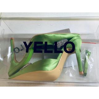 イエローブーツ(Yellow boots)のyellow【新品・未使用】(ミュール)