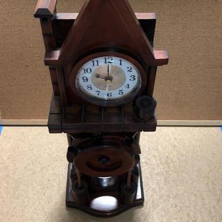 置き時計 木製(置時計)