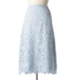 ドゥロワー(Drawer)のドゥロワー レーススカート(ひざ丈スカート)