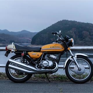 カワサキ - カワサキ マッハ 250ss 逆車 ノーマル 絶版