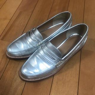 アングリッド(Ungrid)のアングリッド シルバー ローファー(ローファー/革靴)
