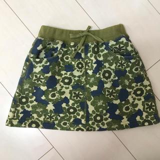 ブリーズ(BREEZE)の花柄ミニスカート(スカート)