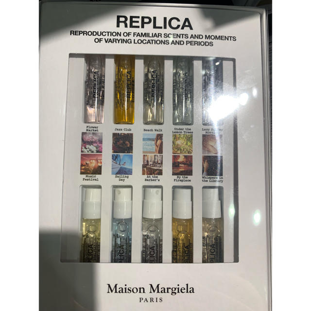 Maison Martin Margiela(マルタンマルジェラ)のMaisonMargiela レプリカ ミニフレグランス 10種 コスメ/美容の香水(ユニセックス)の商品写真