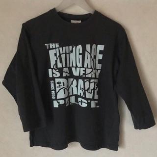 スヌーピー(SNOOPY)のスヌーピー フライングエース柄長TシャツLLサイズ(Tシャツ(長袖/七分))