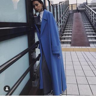 アメリヴィンテージ(Ameri VINTAGE)のアメリヴィンテージ  完売コート ブルー(ロングコート)