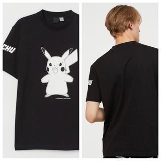 エイチアンドエム(H&M)の【H&M】新作&新品 ⚡️ ピカチュウ Tシャツ Mサイズ(Tシャツ/カットソー(半袖/袖なし))