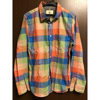 エーグル(AIGLE)のエーグル チェックシャツ 長袖 メンズ  サイズM (シャツ)