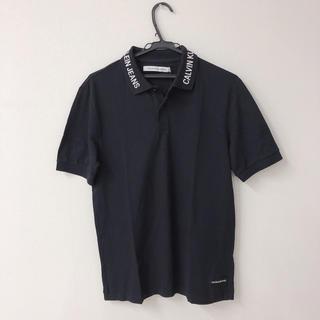 カルバンクライン(Calvin Klein)のカルバンクライン ジーンズ  ポロシャツ US Sサイズ 在庫二枚あり(ポロシャツ)