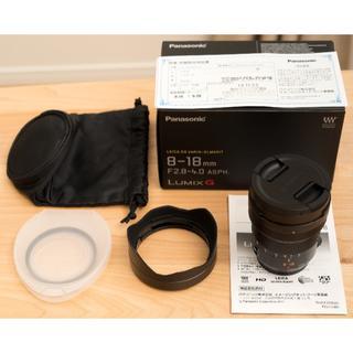 Panasonic - 【美品】LEICA DG VARIO-ELMARIT 8-18mm 保証有