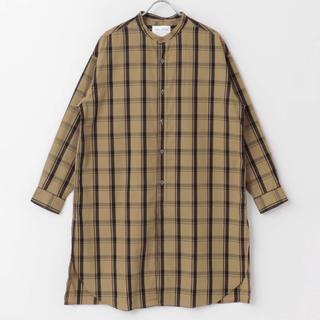 DOORS / URBAN RESEARCH - バンドカラーロングシャツ