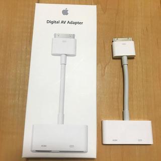 アップル(Apple)のデジタルAVアダプタ  Apple ジャンク品(映像用ケーブル)