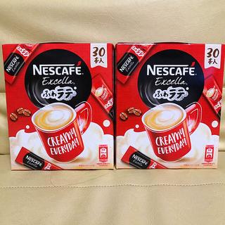Nestle - ネスカフェ ふわラテ60本
